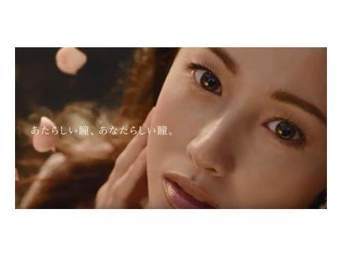 沢尻エリカプロデュース1dayカラーコンタクト 【エバーカラーワンデーモイストシリーズ】TVCM