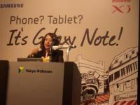 GALAXY Note Class 開催!inミッドタウン